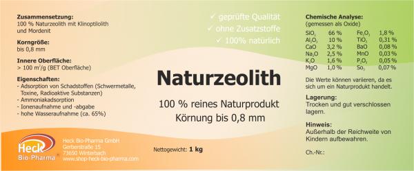 Naturzeolith - gröbere Körnung bis 0,8mm