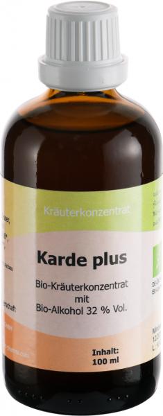 Karde plus Bio, 100 ml - Einführungspreis