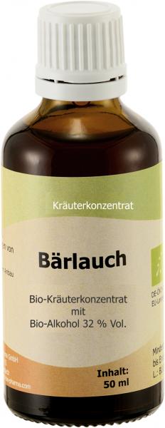 Bärlauch Bio, 50 ml - verbesserte Kräutertinkturmischung