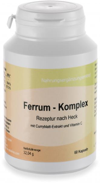 Ferrum-Komplex, 60 Kapseln