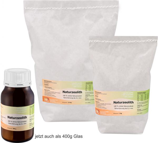 Einführungspreis Naturzeolith - feine Körnung bis 0,1mm