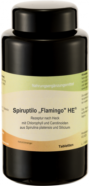 Spiruptilo Flamingo HE, 400 Tabletten
