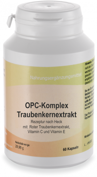 OPC-Komplex Traubenkernextrakt, 60 Kapseln