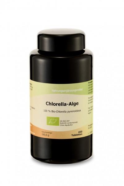 Chlorella-Alge Bio, 450 Tabletten